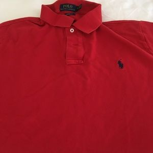 Red Polo Shirt - XL